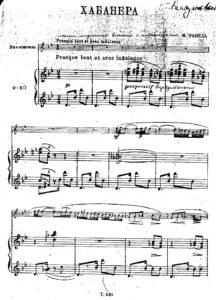 cp - Ravel M. - Piece en Forme de Habanera (Muzgiz)