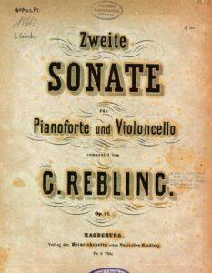 cp - Rebling G. - Sonata No.2 Op.27