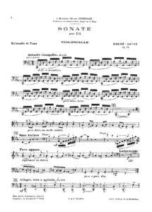cp - Rhene-Baton - Cello Sonata Op.28
