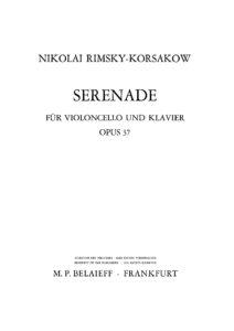 cp - Rimsky-Korsakov - Serenade Op.37