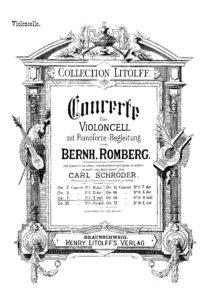 cp - Romberg B. - Cello Concerto No.4 Op.7 (Schroder)