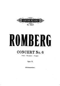 cp - Romberg B. - Cello Concerto No.6 Op.31 (Grutzmacher)