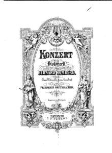 cp - Romberg B. - Cello Concerto No.7 Op.44 (Grutzmacher)