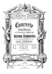 cp - Romberg B. - Cello Concerto No.8 Op.48 (Schroder)