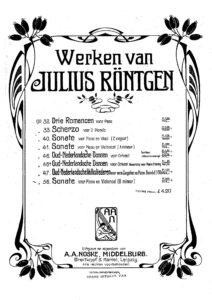 cp - Rontgen J. - Cello Sonata No.5 Op.56