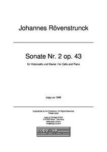 cp - Rovenstrunck J. - Sonata No.2 Op.43