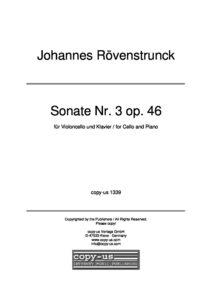 cp - Rovenstrunck J. - Sonata No.3 Op.46