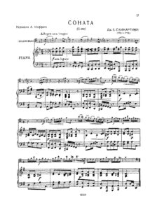 cp - Sammartini G.B. - Sonata in G (Moffat)