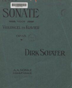 cp - Schafer D. - Cello Sonata Op.13