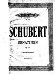 cp - Schubert F. - 3 Sonatinen Op.137 (Grutzmacher)