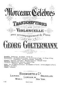 cp - Schubert F. - Ave Maria (Goltermann)