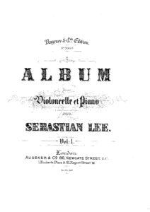 cp - Schumann R. - Evening Song (Lee)
