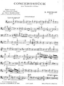 cp - Schumann R. - Konzertstück Op.92 (Baselaire)