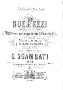 cp - Sgambati G. - Serenata Napoletana Op.24 No.2 (Bouman)