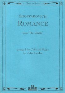 cp - Shostakovich D. - Romance from 'The Gadfly' (Cowles)