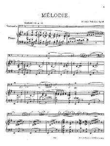 cp - Sokolow N. - Melodie Op.16