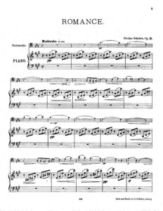 cp - Sokolow N. - Romance Op.19