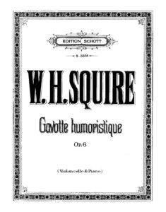 cp - Squire W.H. - Gavotte humoristique Op.6