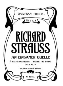 cp - Strauss R. - Beside the Spring Op.9 No.2 (Jeral)