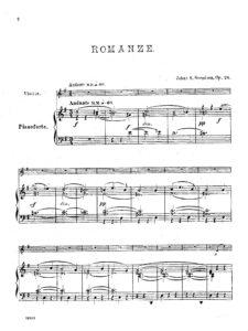 cp - Svendsen J. - Romanze Op.26