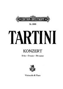 cp - Tartini G. - Cello Concerto in D major (Breitkopf)