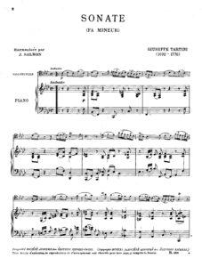 cp - Tartini G. - Sonata in F minor (Salmon)