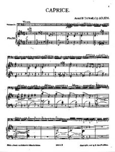 cp - Trowell A. - Caprice Op.20 No.6