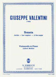 cp - Valentini G. - Sonata in A flat (Moffat)