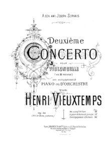 cp - Vieuxtemps H. - Cello Concerto No.2 Op.50
