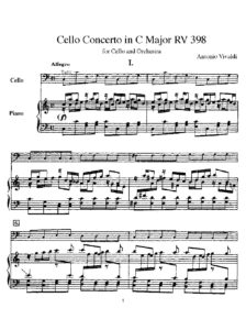 cp - Vivaldi A. - Concerto in C RV398