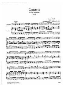 cp - Vivaldi A. - Concerto in C RV399 (Mariassy, Pejtsik)