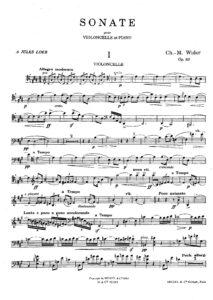 cp - Widor C.M. - Cello Sonata Op.80