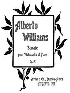 cp - Williams A. - Cello Sonata Op.52