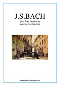 e - Bach J.S. - Two Part Inventions for Violin and Cello