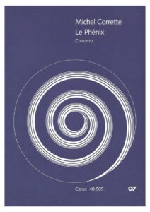 e - Corrette M. - Concerto ''Le Phenix'' for 4 Cellos and Continuo