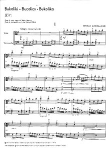 e - Lutoslawski W. - Bucolics for Viola and Cello