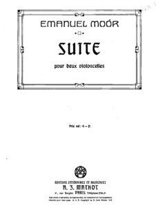 e - Moor E. - Suite for 2 Cellos Op.110