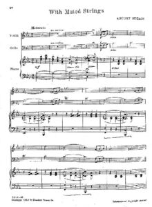 e - Nolck A. - With Muted Strings for Piano Trio
