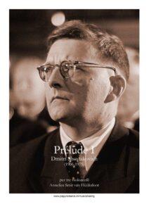 e - Shostakovich D. - Prelude No.1 for 3 Cellos (Huuksloot)