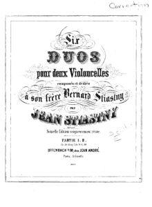 e - Stiastny J - 6 Cello Duos