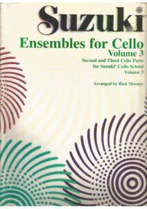 e - Suzuki Ensembles for Cello volume 3