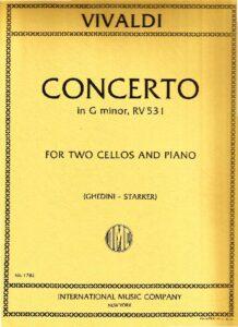 e - Vivaldi A. - Concerto for 2 Cellos in G minor RV531 (IMC)