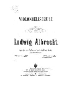 m - Albrecht L. - Cello School
