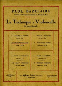 m - Bazelaire P. - Exercice Journalier
