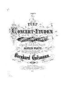 m - Cossmann B. - Five Concert Studies Op.10 (Kistner)