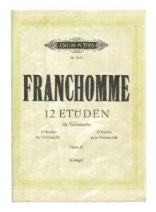 m - Franchomme A. - 12 Etuden Op.35