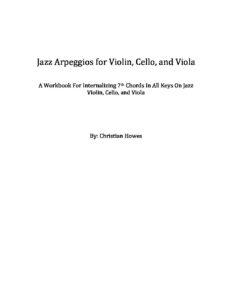 m - Howes C. - Jazz Arpeggioss