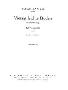 m - Lee S. - 40 Easy Studies Op.70 (Becker)