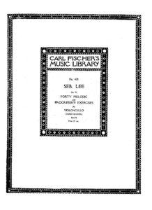 m - Lee S. - 40 Melodic Studies Op.31 book 2