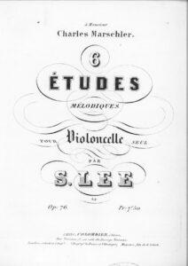 m - Lee S. - 6 Melodic Studies Op.76